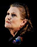 Portrait von Carrie Fisher